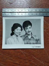 夫妇合影老照片
