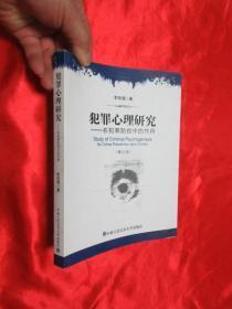 犯罪心理研究   【小16开】