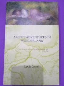 爱丽斯漫游仙境Alice's  (正版 无折 无勾画 不缺页)