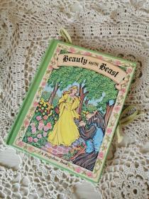 美女与野兽 英文原版 立体书 童书绘本 beauty and beast
