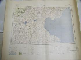 1933年出版《北京》地图   46×58cm