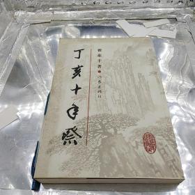 丁亥十年祭  翟泰丰 作家出版社2007年一版一印