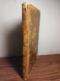 1811年  LETTERS ADDRESSED TO THE MAGISTRATES AND COUNCIL OF GLASGOW   含一副精美藏书票   22X13.5CM