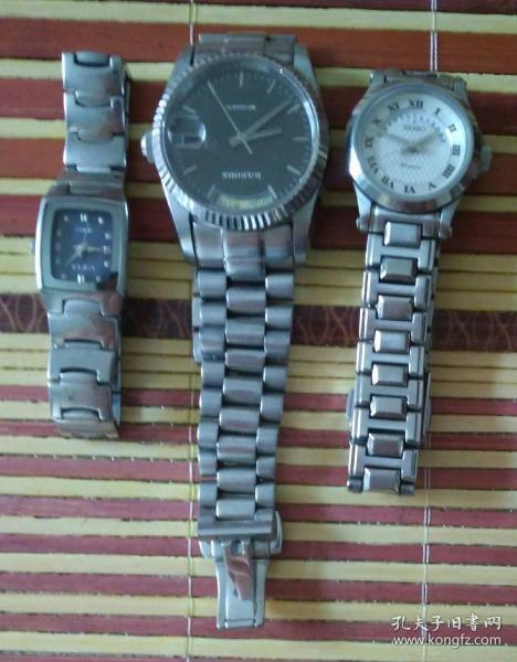 各種手表三塊(已停止轉動,需要維修)