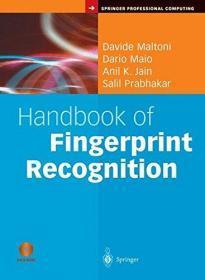 Handbook Of Fingerprint Recognition