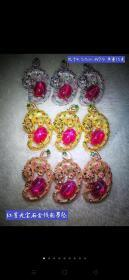 红星光宝石金钱豹吊坠。雕刻精细,器形端庄,星光宝石质地细腻,星光美丽,色彩艳丽,包浆浓郁,检验硬度九以上,收藏珍品