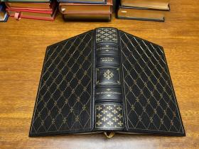Andersonville, 安德森维尔     1956年普利策获奖作品  真皮精装 书口三面刷金 ,能保存数百年的存档级别的无酸纸