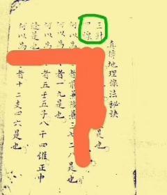 《三僚秘传三针四线七甲子分金线法 》