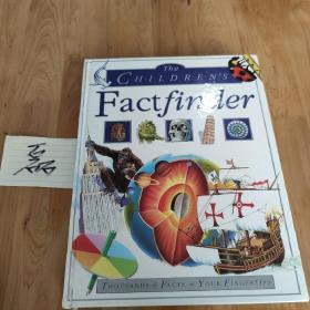 The Children's Factfinder: Thousands of Facts at Your Fingertips 英文原版精装 彩色版