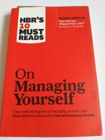 英文原版:HBR's 10 Must Reads on Managing Yourself《哈佛商学院 10 大自我管理必读书目》【现货实图放心拍】