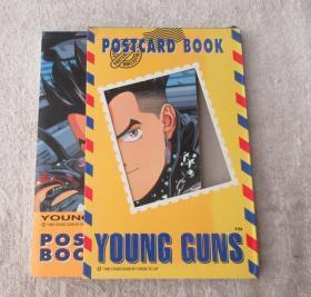 Young Guns Postcard book 明信片 一册18张