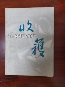 收获 1993-6 内含何顿、潘军、海男、苏童、巴金、余秋雨等作家的作品 支持挂刷和快递
