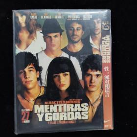 影视光盘376【性派对和谎言】一张DVD简装