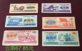 1967年云南省地方粮票