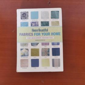 House Beautiful Fabrics for Your Home[340设计为您的家庭收藏馆美丽的织物](正版品好)