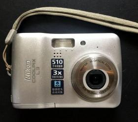 二手数码相机  尼康coolpixL3  实物照片