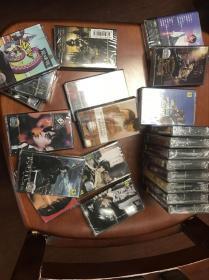 罕见!绝版周杰伦全套22张专辑磁带原装全新未拆封(含影视专辑霍元甲、寻找周杰伦、不能说的秘密等)