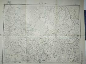 民国地图:石子滩(湖南省.丰县.五峰县等)地形图