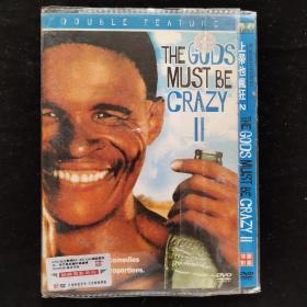 影视光盘334【上帝也疯狂2】一张DVD简装