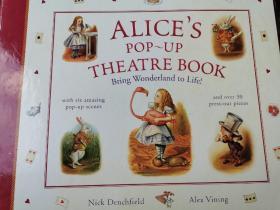 爱丽丝立体书 alice in the wonderland alice pop-up theatre book