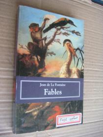 FABLES 《拉封丹寓言 》【法国】 拉封丹  法文原版32开