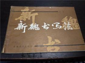 新魏书写法 王文  安徽美术出版社 1990年1版 16开平装