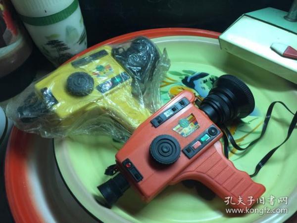 美品 幻燈 攝像機 老玩具 兒童水壺 懷舊收藏