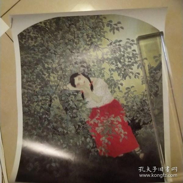 畫片,于文江正午蟬鳴,8開