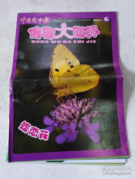 中國兒童報·動物大世界(2011年6月 蝶戀花)