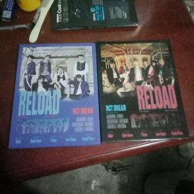 nct dream reload新专辑 两册合售