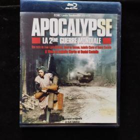 蓝光影视光盘557【二次大战启示录】一张DVD盒装
