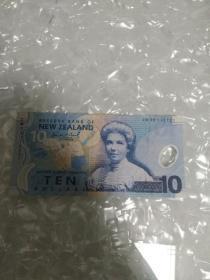 新西兰塑料币