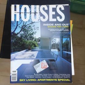 《houses》建筑杂志正版