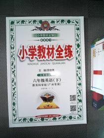 小学教材全练 六年级 英语 下 教育科学版  广州专用