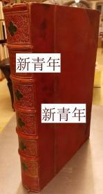 稀缺版《 骑士精神和荣誉标志,历史,服饰和装饰品 》111幅手工上色彩色刻版画,约1855年出版,