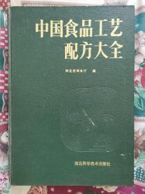 中国食品工艺配方大全(16开精装)