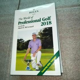 The world of professional Golf 2018