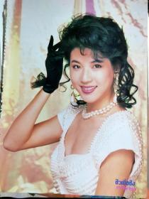 .泰国杂志彩页邱月清A4一张