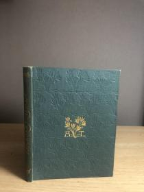 The Poetical Works Of Alfred Lord Tennyson  1895年出版  书脊书面金字