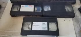 录像带(3盘合售)