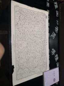 民国地图:余庆司  贵州省  民国二十四年制, 品如图。品自定 57*36CM    100号柜