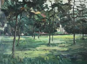 风景油画作品16