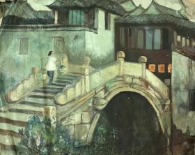 江南风景油画21