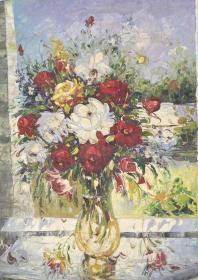 花卉油画作品ddddddd