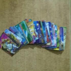 统一小浣熊水浒英雄卡(55张合售)包老包真。