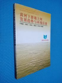 """黄河下游地上河发展趋势与环境后效——""""八五""""国家重点科技攻关项目""""黄河治理与水资源开发利用""""系列专著"""