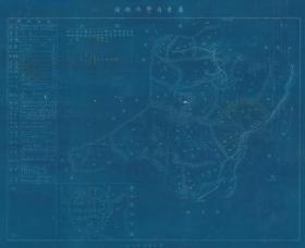 民國《郁南縣圖》(原圖現藏**、原圖高清復制)(郁南老地圖、郁南縣老地圖、郁南地圖、郁南縣地圖、云浮市老地圖、云浮老地圖),全圖藍底白線,左側附縣治資料,內容豐富,請看郁南縣甲級壯丁人數,左下附郁南縣縣城街道圖,全圖規整,開幅很大70*84CM,郁南縣地理地名歷史變遷史料。裱框后,風貌非常好。