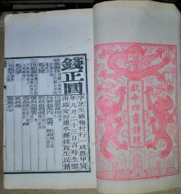 光绪九年(1883)癸未科进士钱正圜硃卷