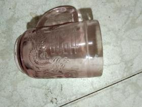 文革時期厚胎玻璃杯