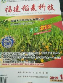 福建稻麦科技2019年1期